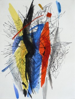 Adelheid Eichhorn, Radierung, 2004